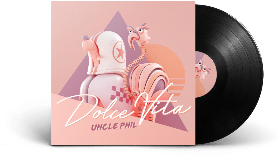 Dolce Vita - De nieuwe release van coverband partyband Uncle Phil coverband & partyband